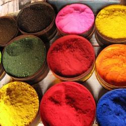 Как правильно изменить цвет ткани?