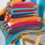 Сегодня в моде полотенца, которые впитывают